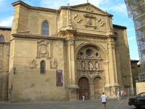 La catedral de Santo Domingo de la Calzada, en La Rioja es uno de los hitos del Camino Francés