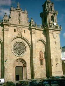 Fachada occidental de la catedral de Mondoñedo