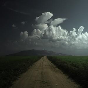 camino de noche