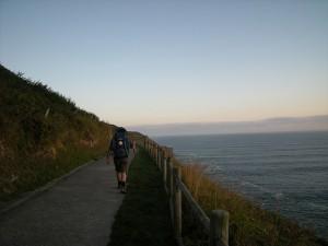 camino del norte playa