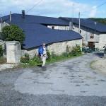 casas tipicas con tejados de pizarra
