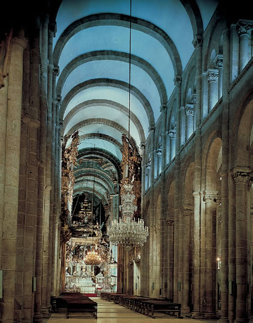 Blogearte catedral de santiago de compostela - Interior santiago de compostela ...