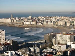 Vista de A Coruña (foto Pablo Herrero)