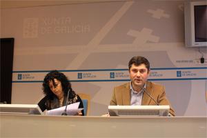 El director xeral de Xuventude e Voluntariado, Ovidio Rodeiro, durante la presentación del I Encontro Internacional de Voluntariado Xuvenil
