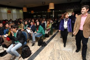 Participantes en el I Encuentro Internacional de Voluntariado Xuvenil