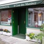 fachada de a casa dos martinez