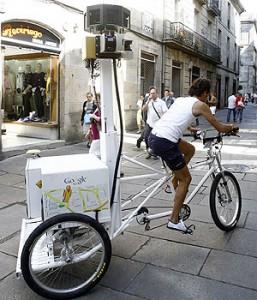 google street wiev en Compostela