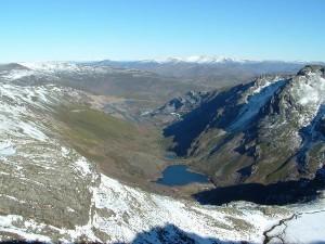 lagos de la Baña en Pena Trevinca