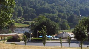 El hotel está situado en las proximidades del campus lucense (foto lugovirtual.es)