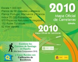 Mapa Oficial de Carreteras 2010