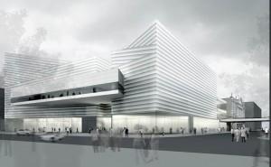 proyecto del palacio de congresos de Zürich