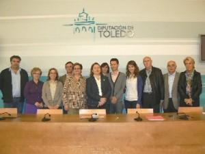 Reunión de la vicepresidenta de la Diputación de Toledo y los alcaldes de los ayuntamientos por los que discurre el Camino de Levante a su paso por la provincia de Toledo