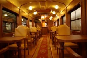 tren expreso de la robla interior