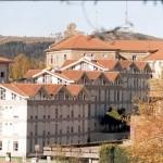 vista del hostal desde Bonaval