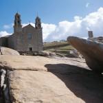 Pedra Avalar, Iglesia Virxe da Barca