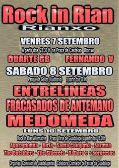 Festas da Guadalupe de Rianxo - Inauguración da Moreniña ...