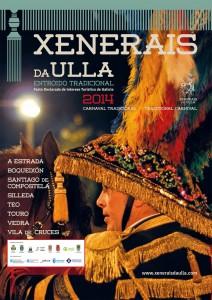 Cartel Xenerais da Ulla 2014