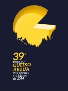 cartel 2014 festa do queixo