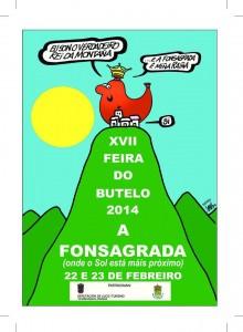 cartel festa do butelo 2014