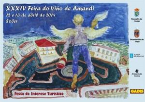 feira do viño de amandi 2014