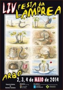 festa da lamprea en arbo