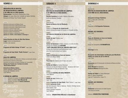 programa festa da lamprea 2014