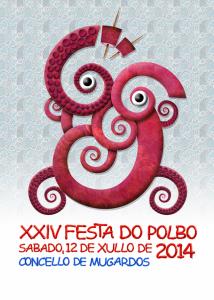 Una de las fiestas de interés turístico en Galicia es la Festa do Polbo de Mugardos.