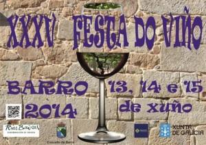 festa do viño en barro 2014