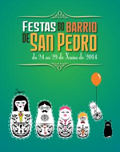 festas barrio san pedro cartel 2014
