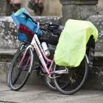 bicicleta de un peregrino