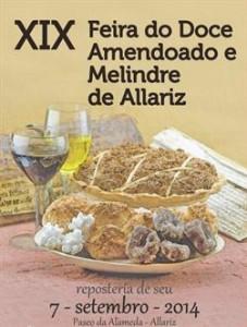 cartel feira do doce amendoado e melindre 2014