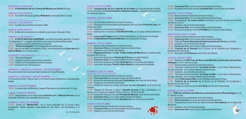 programa festa do marisco 2014
