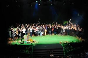 Foto de familia dos Premios Martín Códax