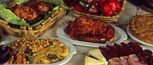 Productos gastronómicos del Bierzo.