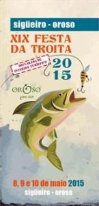 Cartel Festa da Troita Oroso