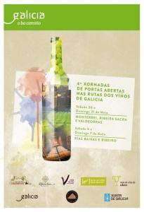 Xornadas de Portas Abertas Rutas ddo Viño de Galicia