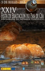Cartel festa do pan de cea 2015