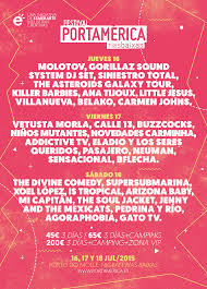 Cartel festival portamerica 2015