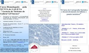 """I Curso de Cartografía Turística e desenvolvemento de folletos e paneis turísticos"""""""