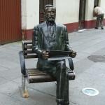 Estatua Alfredo Brañas , Carballo : Costa da morte