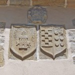 Escudos rectoral Caion Costa da morte: A Laracha