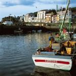 Puerto de pescadores Camariñas : Costa da morte