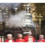 botafumeiro misa del peregrino
