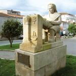 Monumento Palilleira Camariñas : Costa da morte
