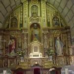 Altar igrexa de Gustei