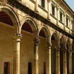 Arcos claustro San Clodio