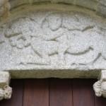 Detalle da Igrexa de Moldes
