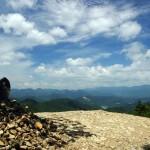 Vista desde Hyakkengura del Kumano Kodo