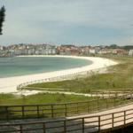 Panorámica playas de sanxenxo