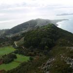 Vista Aérea de Cangas y su costa